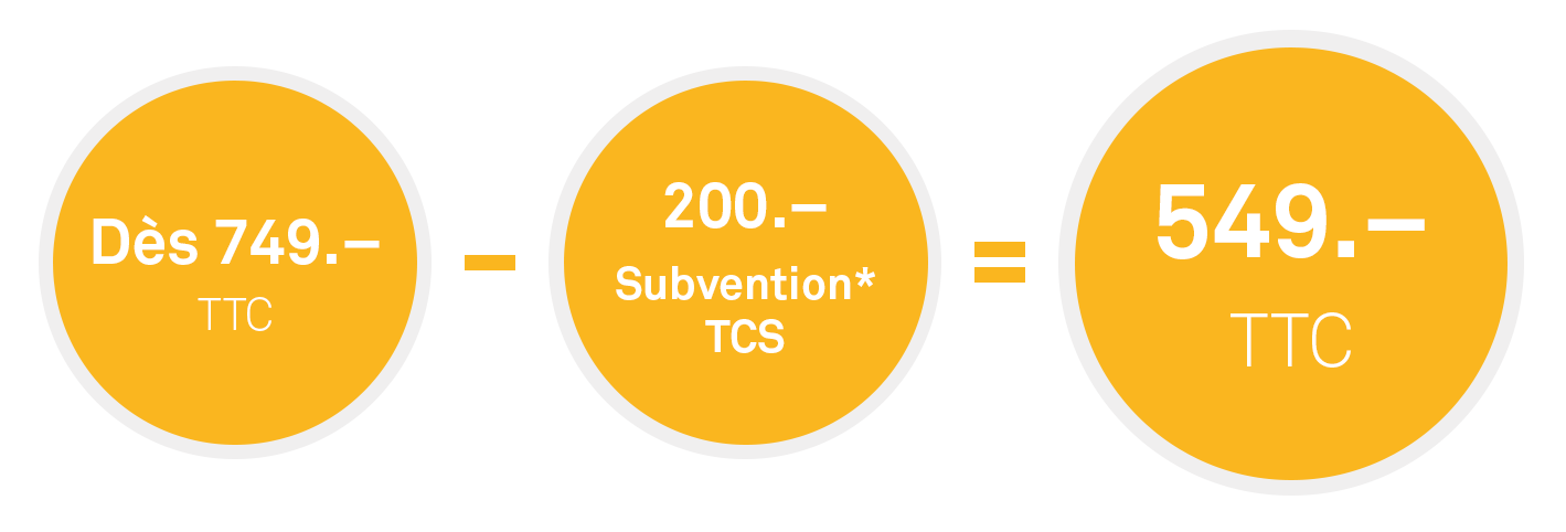 Subvention TCS H2